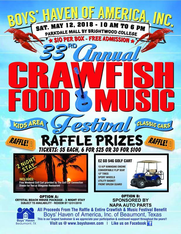 Music festival prizes for kids